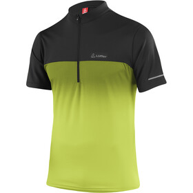 Löffler Flow 3.0 Half-Zip Bike Shirt Men, light green